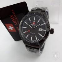 Jam Tangan Swiss Army SA 3086 Black Jam Pria Original Gaya Keren Murah