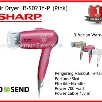 Sharp Hair Dryer Ib-Sd23y-P (Pink) Mengeringkan Rambut Secara Sempurna