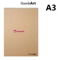 GambArt Sketchbook A3 / Scratchbook