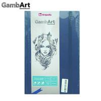 GambArt Sketchbook - Linen Plastic - Navy