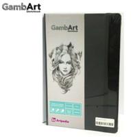 GambArt Sketchbook - Linen Plastic - Black