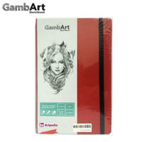 GambArt Sketchbook - Linen Plastic - Red