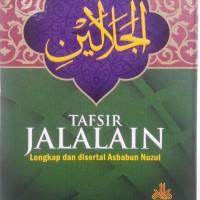 Buku Tafsir Jalalain Lengkap Dan Disertai Asbabun Nuzul
