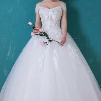Gaun Pengantin 1803018 Putih Sabrina Wedding Gown
