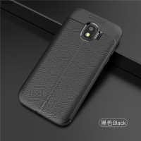 LEATHER AUTO FOCUS Samsung J2 Pro 2018 soft case casing hp back cover