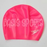TOPI RENANG SPEEDO LONG HAIR CAP PINK