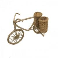 Kerajinan Tangan Rotan Sepeda Keranjang Kangkung 20x19x11cm
