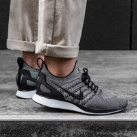 8fb6b2060a89f Sepatu Nike air zoom Flyknit Racer Mariah Pale Grey Black White