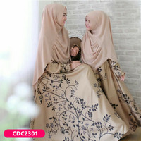 gamis couple ibu anak dress muslim yuanda