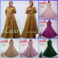 baju muslim wanita dress gamis maxi shofiya lucia jumbo bigsize xxl