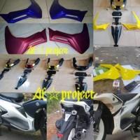 undertail dan sidekit Aerox 155