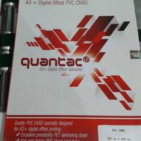 Bahan ID Card A3+ Quantac Printer Laser di Pekanbaru