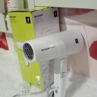 sharp hair dryer IB HD16-W plasmacluster white