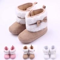 PW56 - Prewalker boots bulu pita shoes baby sepatu bayi toddler