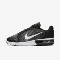 Sepatu Running Nike Air Max Sequent Hitam Black Original Asli Murah