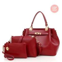 TERMURAH tas hand bag tas wanita murah tas selempang fashion wanita - Beige