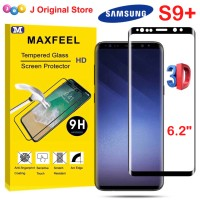 MAXFEEL Tempered Glass 3D Edge Samsung S9 Plus S9Plus Premium
