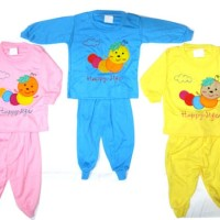 grosir baju bayi anak perempuan Baju Tidur HAPPY LIFE - BB764