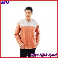 Baju Koko Dewasa Bahan Katun Premium Warna Salem - GHS