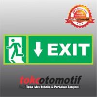 Sticker Safety Sign K3 Tanda Arah Exit