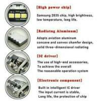 New! Lampu Led Rem Strobo Kedip Bayonet Bay15D 15 Smd Emperor Mobil