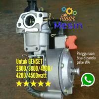 ALAT BANTU GENSET 2800watt/3800watt/4500watt Menggunakan GAS LPG