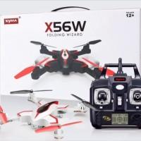 SYMA X56W Foldable Drone FPV WIFI CAMERA VS JJRC H37