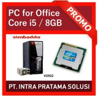 PC Core i5 + 8GB RAM (For Office Needs)