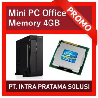 Mini PC Core i3 + 4GB RAM (Best Value For Office Needs)