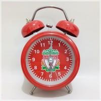Jam Weker Twin Bell Liverpool Diameter 7,5 cm
