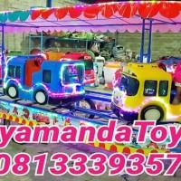 Kereta Mini Panggung Karakter Bus TAYO