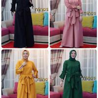 starla set baju dan celana/setelan muslim lebaran/setelan hijab cantik