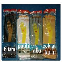 Sarung/kaos tangan wanita full jari/muslimah/pengantin