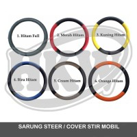 Sarung Cover Steer Stir Mobil Wuling Confero