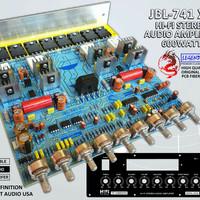 Driver Power Amplifier/Kit Power Amplifier JBL 741 X3 STEREO 600 Watt