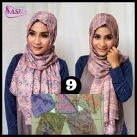 Baru . . Pashmina Motif Bolak Balik 09 / Hijab / Jilbab / Krudung /