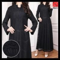 Harga Super . . Sale Busana Muslim / Gamis Hitam / Muslim Wanita