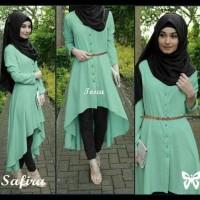 Baru . . Gamis / Baju Wanita Muslim Safira Syari !