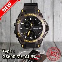MODEL TERBARU !! G-SHOCK CASIO G8600 METAL BESI JAM TANGAN SPORTY PR