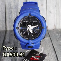 BEST SELLER !!! JAM TANGAN G-SHOCK CASIO GA500 FULL BIRU SKMEI EIGER