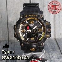 SALE MURAH !!! G-SHOCK CASIO GWG1000 BLACK GOLD HITAM NOT SMARTWATCH