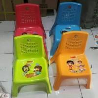Kursi Anak Sandar Plastik TK PAUD Ultah