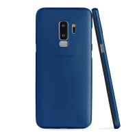 ASENARU Samsung Galaxy S9 Plus - Super Slim Signature - Navy Blue