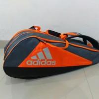 Tas Bulutangkis/Tas Badminton Adidas New Wucht P5 9 Raket /ORIGINAL