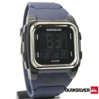 JAM TANGAN QUICKSILVER RUBBER DIGITAL NAVY TERBARU
