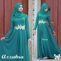 Azzahra Tosca Busana Muslim Pesta Wanita Terbaru Gamis Terbaru