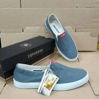Sepatu Slip On - Sepatu Casual - Converse Slip On - Sepatu San Unik