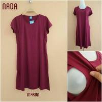 DRESS Baju Menyusui Mamigaya Seri Nada Jumbo (Big Size)