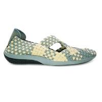 Sepatu Anyaman Lulia Flat Vs33 Cream Grey Bernice Cynthia Kiddo Oggo