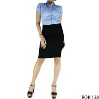 Rok Pendek Kerja Wanita - ROK 138